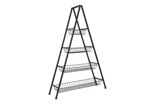 A-stand w/4 baskets