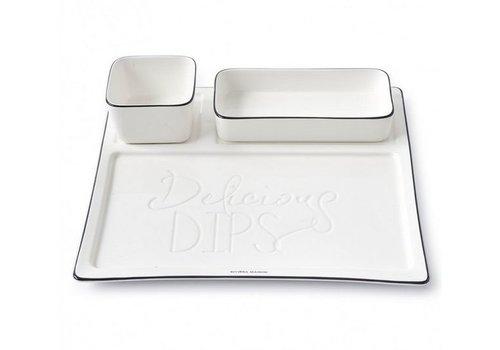 RIVIERA MAISON Delicious Dips Plate