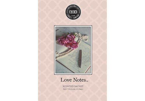 BRIDGEWATER Sachet Love Notes