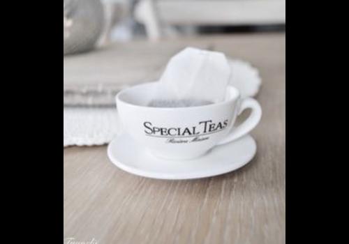 RIVIERA MAISON Let's Have Some Tea Teabag Holder S/2