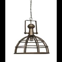 Denver brass Iron hanging lamp industrial round