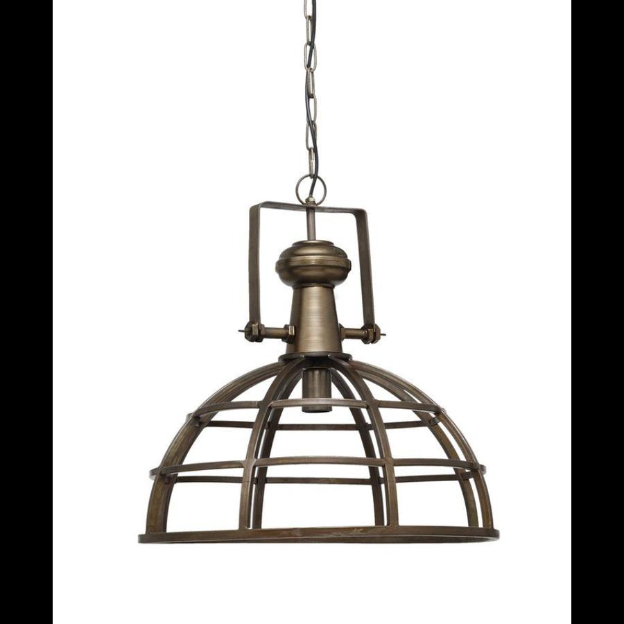 Denver brass Iron hanging lamp industrial round-1