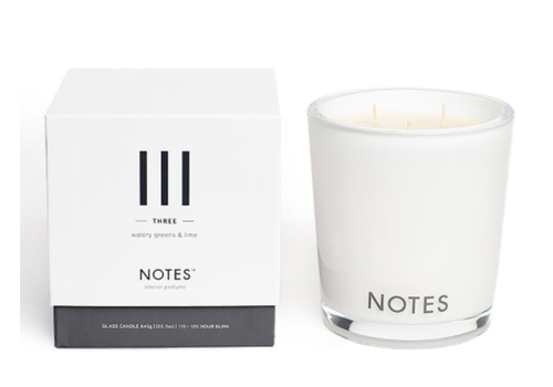 NOTES Notes L Candle III - Three