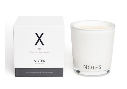 Notes L Candle X - Ten