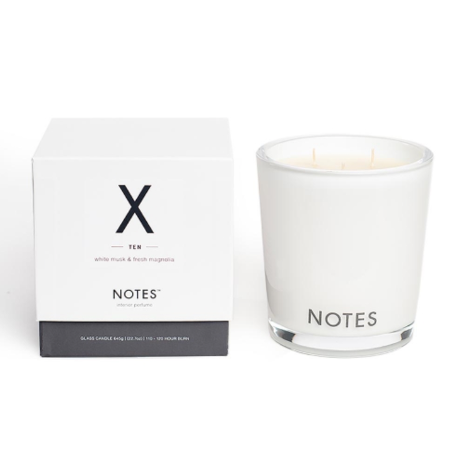 Notes L Candle X - Ten-1