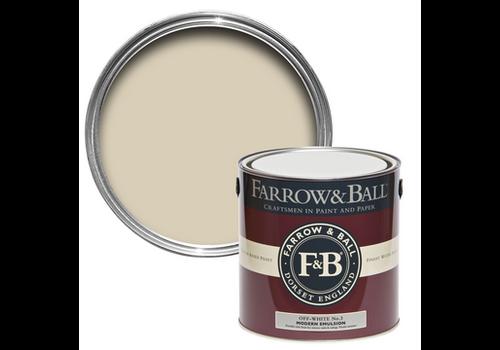 FARROW & BALL 2.5L Exterior Eggshell Off White No. 3