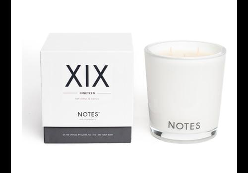 NOTES Notes L Candle XIX - Nineteen