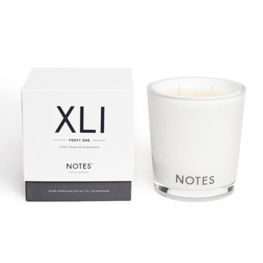 Notes L Candle XLI - Forty One-1