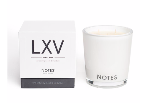 NOTES Notes L Candle LXV - Sixty Five