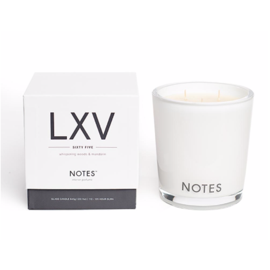 Notes L Candle LXV - Sixty Five-1