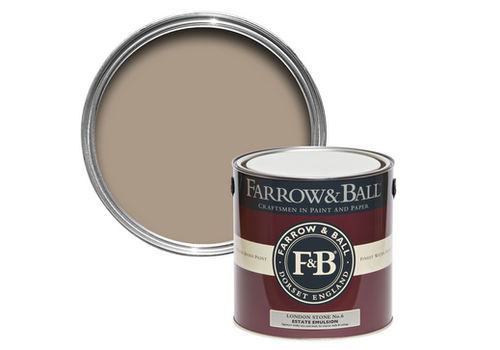 FARROW & BALL 5L Estate Emulsion London Stone No. 6