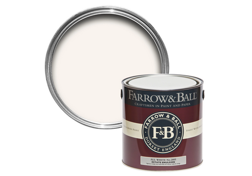 FARROW & BALL 750ml Modern Eggshell All White No. 2005