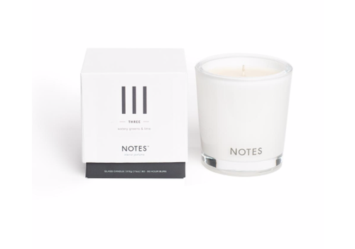 NOTES Notes M Candle III - Three
