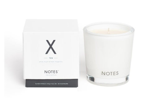 NOTES Notes M Candle X - Ten