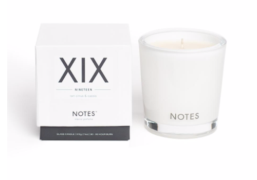NOTES Notes M Candle XIX - Nineteen