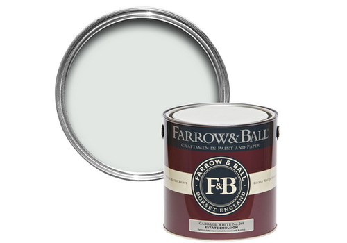 FARROW & BALL 750ml Estate Eggshell Cabbage White No. 269