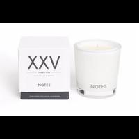 Notes M Candle XXV - Twenty Five