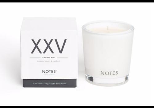NOTES Notes M Candle XXV - Twenty Five