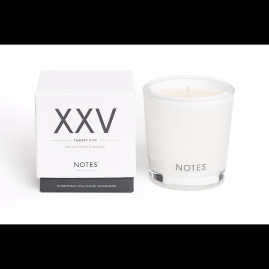 Notes M Candle XXV - Twenty Five-1