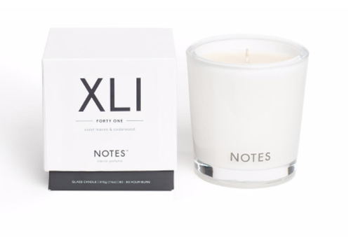 NOTES Notes M Candle XLI - Forty One