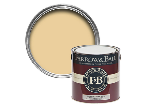 FARROW & BALL 2.5L Estate Emulsion Dorset Cream No. 68