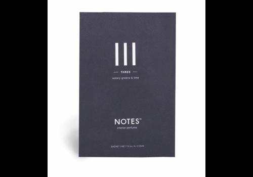 NOTES Notes Sachet III - Three
