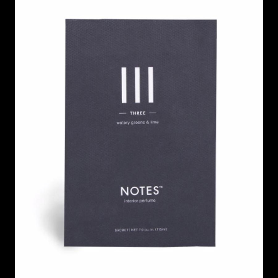 Notes Sachet III - Three-1