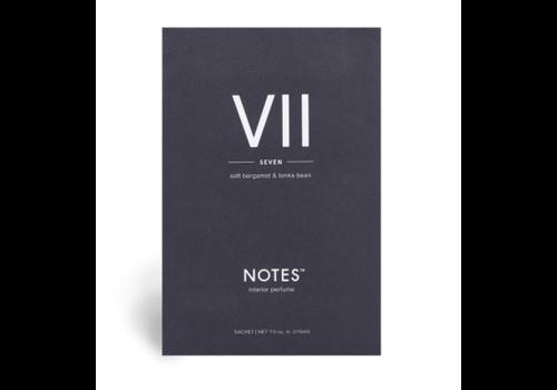 NOTES Notes Sachet VII - Seven
