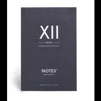 Notes Sachet XII - Twelve