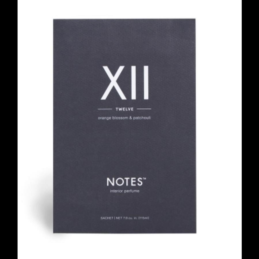 Notes Sachet XII - Twelve-1