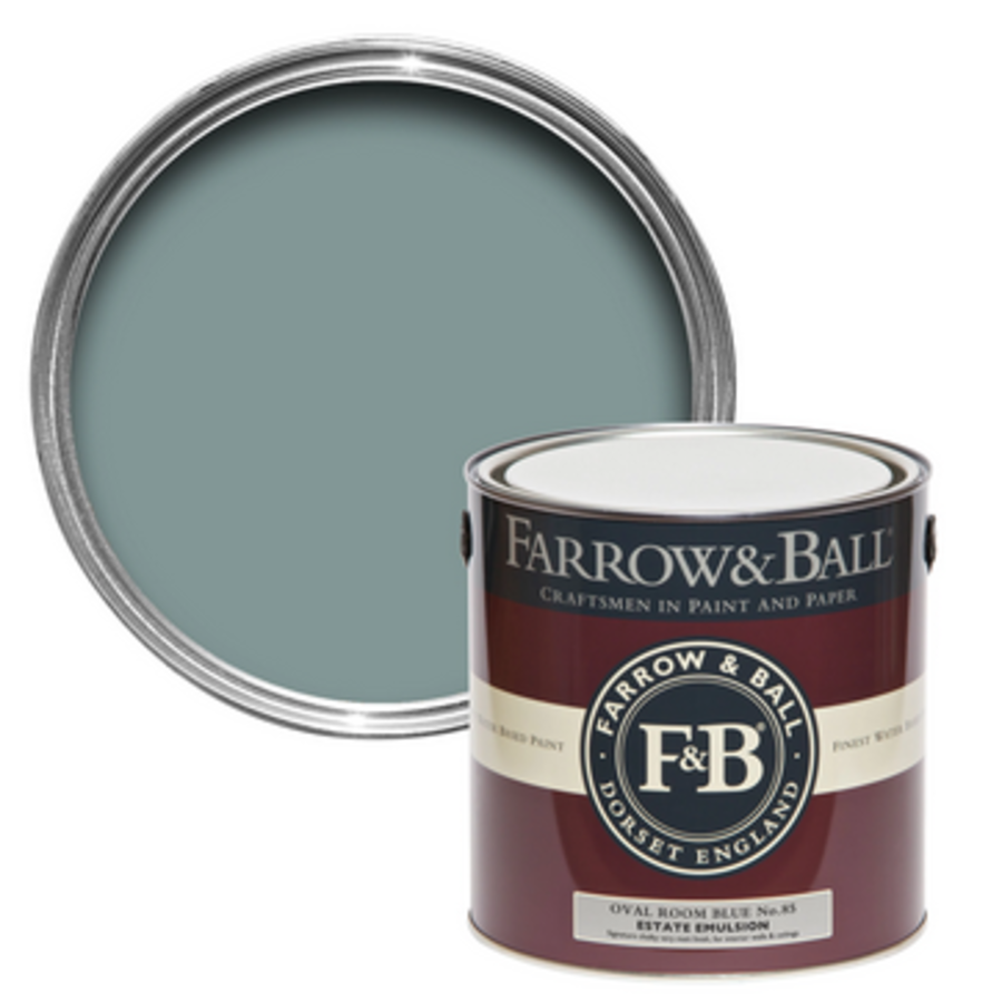 100ml Sample Pot Oval Room Blue No. 85-1