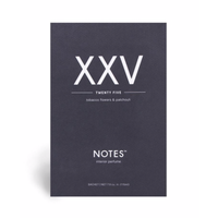 Notes Sachet XXV - Twenty Five