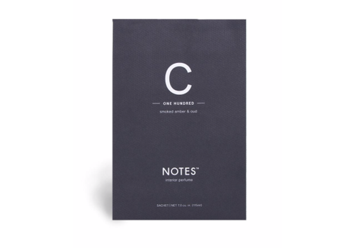 NOTES Notes Sachet C - One Hundred