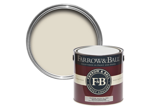 FARROW & BALL 2.5L Estate Emulsion Slipper Satin No. 2004