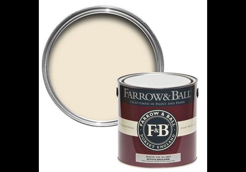 FARROW & BALL 750ml Estate Eggshell White Tie No. 2002