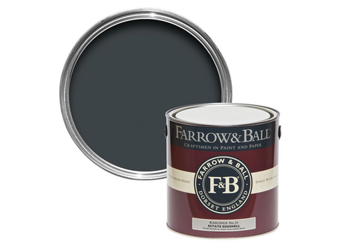 FARROW & BALL 100ml Sample Pot Railings No. 31