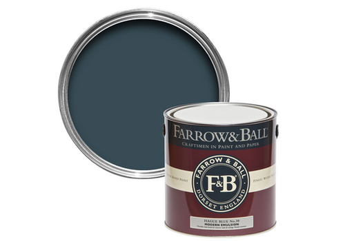FARROW & BALL 100ml Sample Pot Hague Blue No. 30