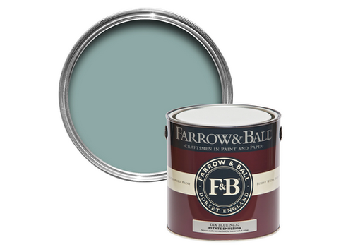 FARROW & BALL 2.5L Estate Emulsion Dix Blue No. 82