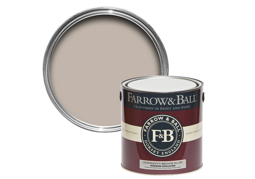 FARROW & BALL 2.5L Modern Emulsion Elephant's Breath No. 229