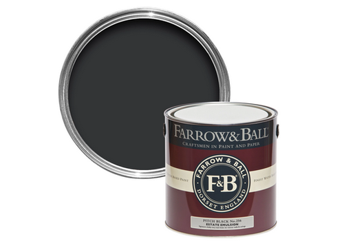FARROW & BALL 750ml Estate Eggshell Pitch Black No. 256