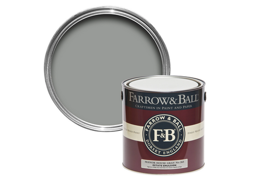 FARROW & BALL 2.5L Estate Emulsion Manor House Gray No. 265