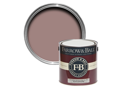 FARROW & BALL 2.5L Estate Emulsion Sulking Room Pink No.295