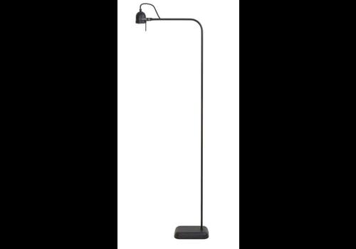 LIGHT & LIVING Vloerlamp LED 40x16x145 cm DAIMEN mat zwart incl dimmer+lamp