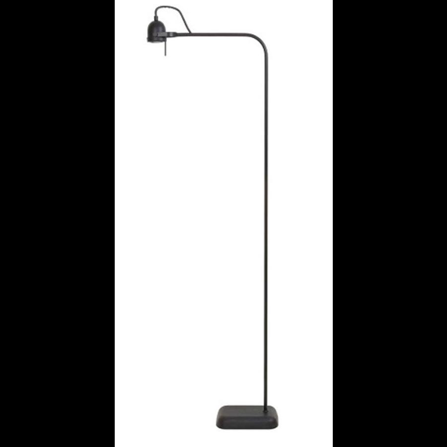Vloerlamp LED 40x16x145 cm DAIMEN mat zwart incl dimmer+lamp-1