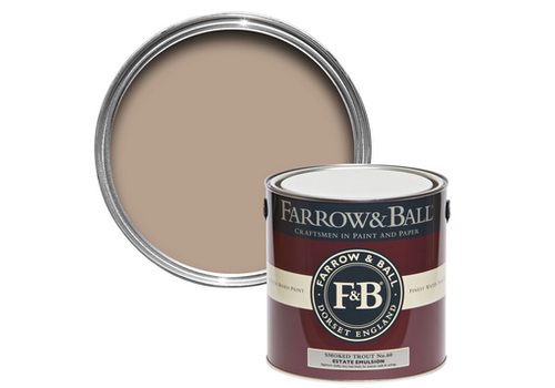 FARROW & BALL 2.5L Estate Emulsion Smoked Trout No. 60