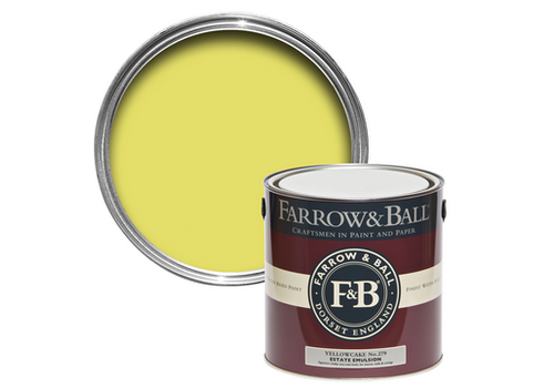 FARROW & BALL 2.5L Estate Emulsion Yellowcake No. 279