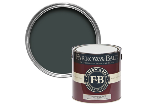 FARROW & BALL 100ml Sample Pot Studio Green No. 93