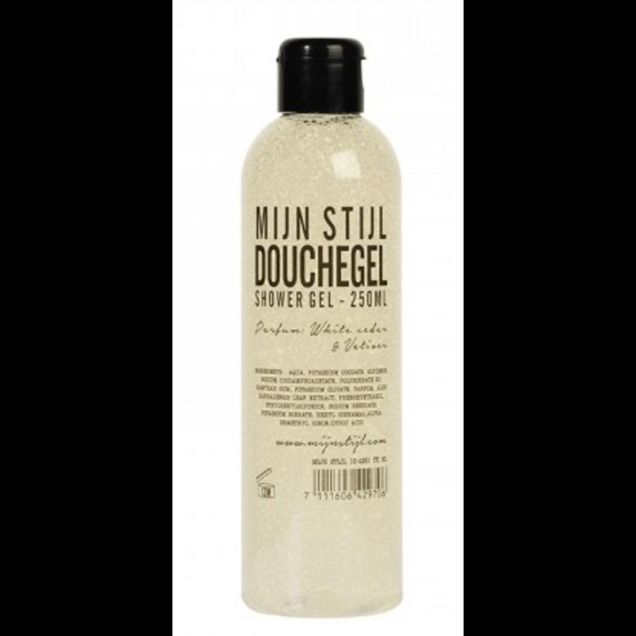 Douchegel White Cedar en Vetiver 250 ml transparante fles-1