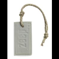 Zeephanger rechthoek ZEEP XXXL licht grijs parfum Katoen 175 gram