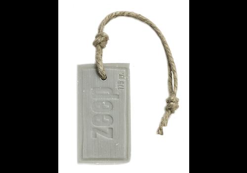 MIJN STIJL Zeephanger rechthoek ZEEP XXXL licht grijs parfum Katoen 175 gram